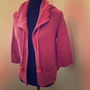 🌸Moth🌸 Hot Pink 3/4 Sleeve Cardigan
